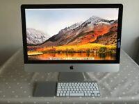Apple iMac - i7 3.5 Quad Core / 32gb DDR3 / 500gb SSD / Keyboard / Trackpad / Original Box