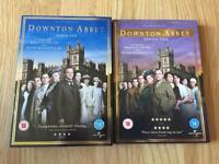 Downton Abbey DVD series 1 & 2 (series 2 is brand new)