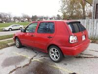 1998 Volkswagen Golf 4door Hatchback