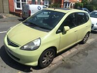 Honda Jazz 1 driving instructor car from New 2005
