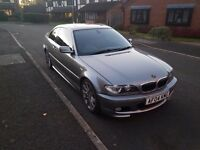 BMW E46 330CD Coupe Diesel msport manual - many new parts, fresh MOT, new tyres/brakes
