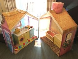 Rose Petal Cottage and Accessories (kids play house)