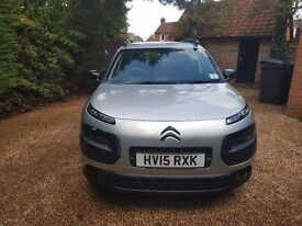 Immaculate C4 CACTUS 2015. Automatic. Diesel 1.6L. 80mpg. Zero tax.