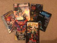 HUGE Graphic Novel Bundle 35 Books Marvel/DC/2000AD