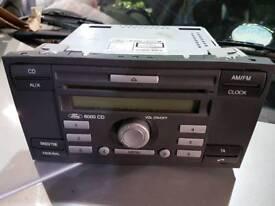 Ford fiesta 06 cd/radio