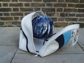FREE DELIVERY Bowling Ball With Bag Retro