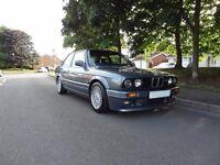 1989 E30 BMW 325i SPORT, DOLPHIN GREY 95,000 MILES ORIGINAL & IMMACULATE MINT