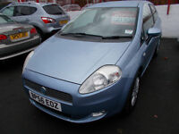 *FIAT GRANDE PUNTO 1.3*DIESEL**2007*LOW MILEAGE*FULL YEARS MOT*FREE!! 12 MONTHS ROAD TAX*ONLY £2195*