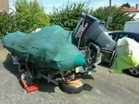 Avon 4.65 m lux sports RIB with 75 Yamaha pro engine