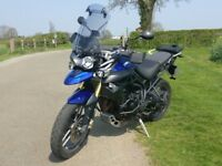 Triumph Tiger 800 2012 Loaded with £2000 Extras inc Luggage, Ready for adventure 12 Months MOT