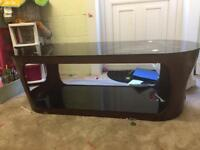 Coffee table and tv cabinet set
