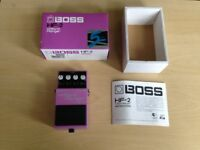 Boss HF-2 Hi Band Flanger Pedal - BOXED- EXCELLENT CONDITION