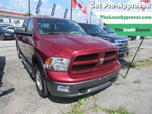 2012 Ram 1500 Outdoorsman * 4X4 * CAM * ONE OWNER