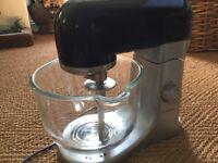 Kenwood K-Mix KMX50BK black Stand Mixer with 4 attachments