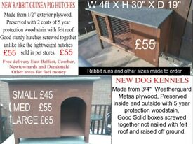 Dog Kennels and Rabbit/Guinea pig hutches, SPECIAL OFFERS
