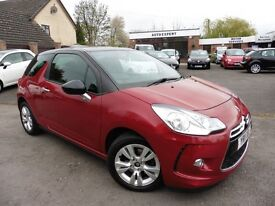 Citroen DS3 DSTYLE (red) 2011