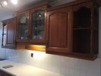 Kitchen units. Magnet - hardwood doors