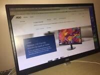 AOC 21.5 inch monitor
