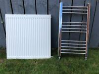 Small convertor and towel radiator