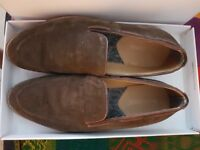 Chocolate Suede Loafer Ben Sherman