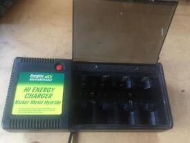 Nickel Batteries Rechargeable Unit 8 places