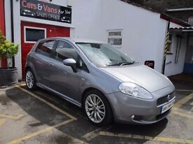 2007 Fiat Grande Punto 1.4 T-Jet Sporting 5dr SERVICE HISTORY