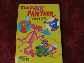 The Pink Panther annual 1976 £3