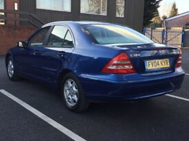 2004 MERCEDES C180K SE * 4 DOOR * AUTOMATIC * LONG MOT * PART EX WELCOME * DELIVERY *