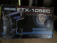 Meade ETX-105 EC Astro Autostar Telescope with Tripod, Instructions +