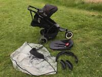 Phil&Teds DOT Double Pram/ Buggy