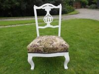 Ornate Nursing Chair