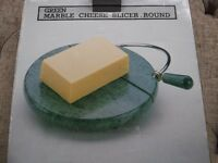 Green marble cheese slicer *BRAND NEW in box * includes 2 replacement wires