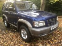 X REG ISUZU TROOPER 3.0 TD COMMERCIAL 3DR ONLY 115000 MLS