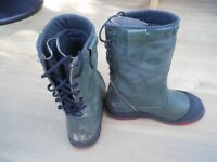 Oregan chainsaw safety boots size 7.