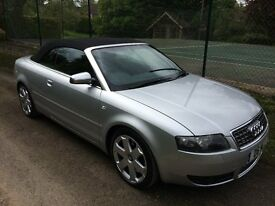 Audi S4 B6 Convertible 4.2L V8 - 15 Mnths Warranty - 57K Miles - Best in Country ! Immaculate !
