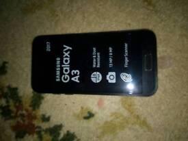 Samsung galaxy A3 in black