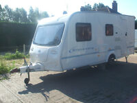 touring caravans BAILEY 5BERTH .2004.VERY LIGHT 900KLS .mint condition ,awning ,all extras .