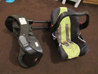 Graco Evo Car Seat in Lime Green Baby 6-12 months with Compatible Isofix Base