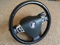 Saab 93 steering wheel with airbag