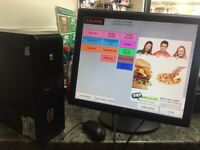 Epos system for Takeaway/resturant/cafe/fish and chips just 2 months old