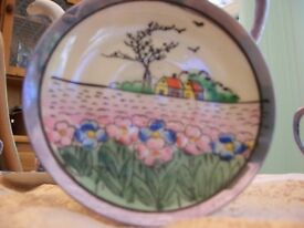 Coffee set made in Japan cira 1920 hand painted no chips.