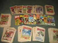 Comics Warlord Boys plus Warlord Annuals