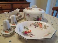 Johnson Brothers - Fresh Fruit - Dinner Service/Tea set/dishes - bundle 55 items