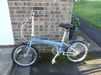 Dahon Speed D7 Folding Bike, Unisex 7 Speed Fold-Up Bike in Excellent Condition RRP £ 550+