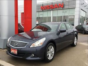 2010 Infiniti G37 Luxury All Wheel Drive, BOSE, leather, Roof