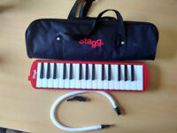 NEW > Melodica with Case - Stagg 32 keys - Red