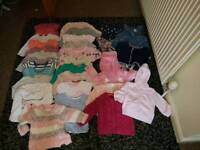 Girls clothes bundle age 3-6months