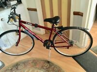 Trax T700 Mens bicycle,used twice by pensioner. For sale in near new conditon.