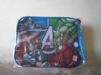 Child's Marvel Insolated Lunch Bags x 2 brand new