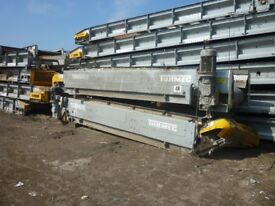 MRF PLANT & EQUIPMENT FOR SALE - Large collection - Recycling machinery, conveyors, eddy current etc